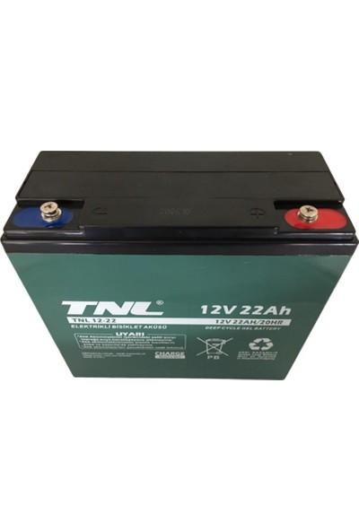 TNL 12V 22AH Elektrik Bisiklet Aküsü