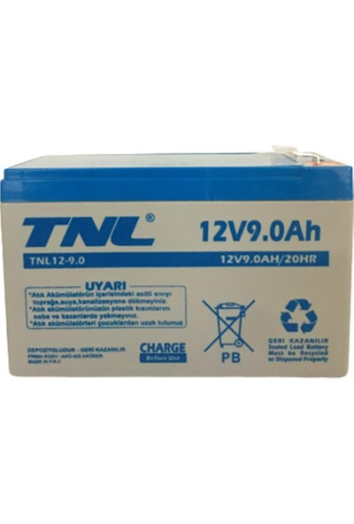 TNL 12V 9AH Kuru Tip Akü