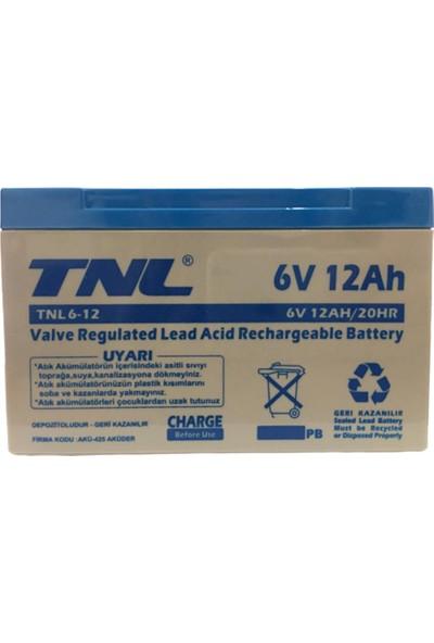 TNL 6V 12AH Kuru Tip Akü