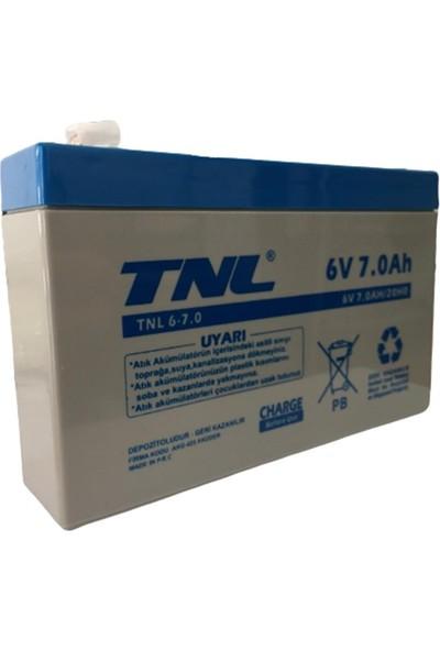 TNL 6V 7AH Kuru Tip Akü