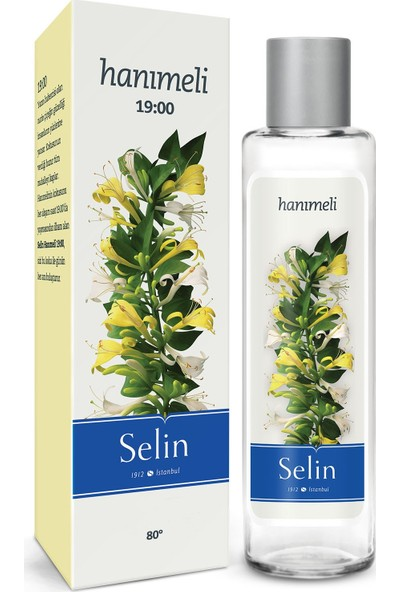 Selin Parfümlü Hanımeli Kolonya Pet Şişe 200 ml x 2 Adet
