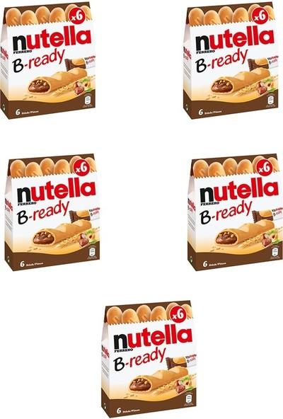 Nutella B-Ready Çikolata 5 Paket 132 gr