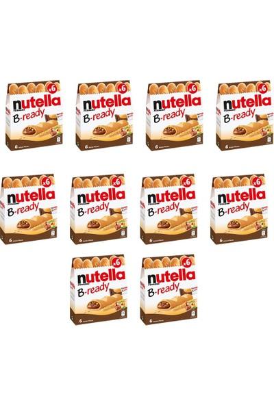 Nutella B-Ready Çikolata 10 Paket 132 gr