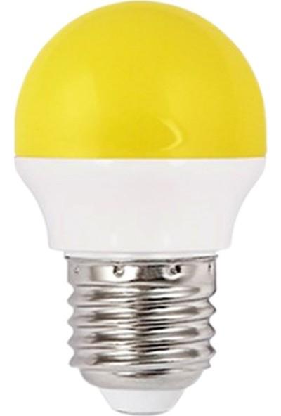 Fsl G45 1,8 W LED Gece Ampulu E-27 Sarı