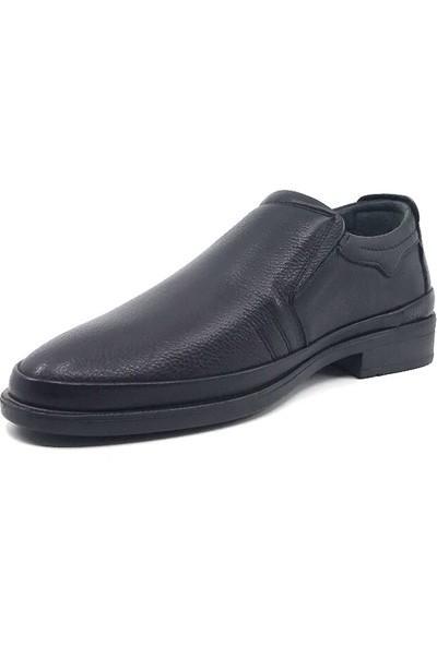 Berenni 789 Siyah Kauçuk Taban Erkek Mevsimlik Ayakkabı