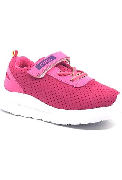Cool 20-S12 Bebe Fuşya Kız Bebe Yazlık Spor Ayakkabı