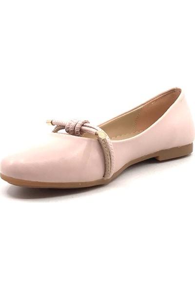 Vetta Pembe Günlük Abiye Kız Çocuk Babet Ayakkabı