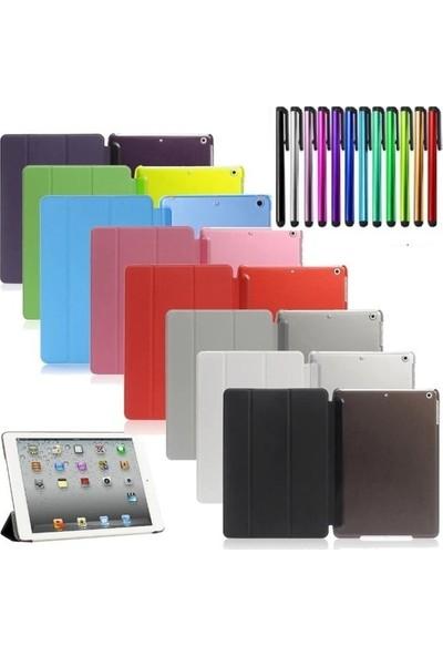 """Fibaks Apple iPad Pro 2. Nesil (2020) 11"""" Kılıf Smart Cover Katlanabilir Standlı Akıllı Kapak Siyah"""