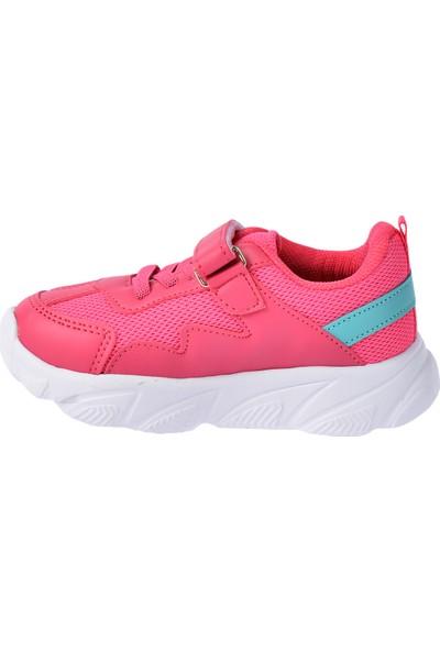 Kiko S17 Günlük Fileli Cırtlı Kız/Erkek Çocuk Spor Ayakkabı