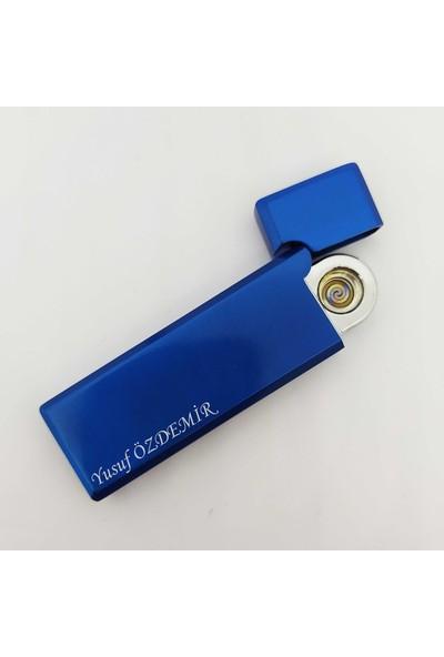 PerakendeShop Kişiye Isme Özel USB Şarjlı Alevsiz Elektronik Çakmak