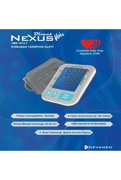 Direct Nexus Voice Konuşan Otomatik Tansiyon Aleti - Tmb 1872-T