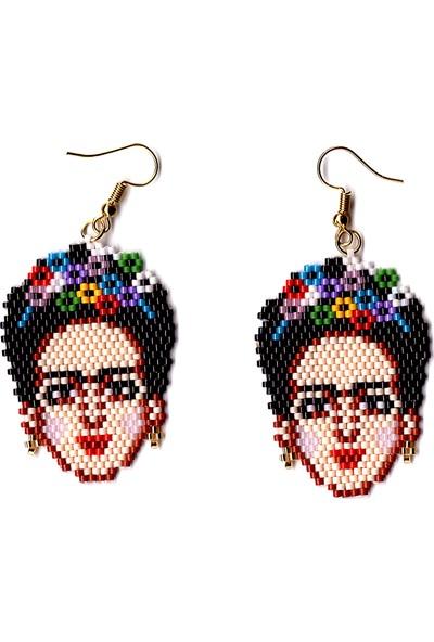 Binbir Takı Japon Boncuğu Miyuki Frida Küpe Takımı