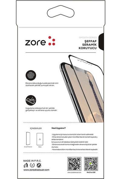 Kılıfist Xiaomi Redmi Note 9S/Pro Zore Seramik Esnek Nano Ekran Koruyucu
