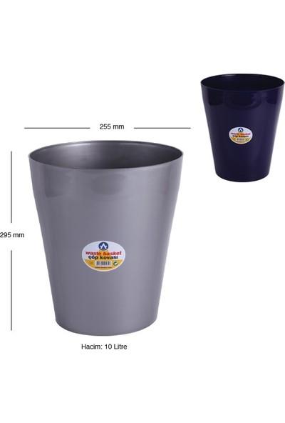 Jokey Sıkıştırmalı Çöp Kovası 10 Lt Siyah