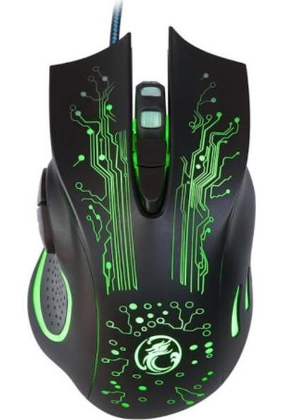 Imıce X9 Işıklı Kablolu Mouse
