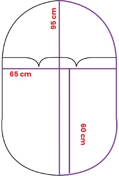 Daphne Kids Style Gri Penguen Uyku Tulumu + Uzay Uyku Seti + Turuncu Roket Yastık