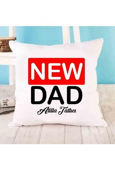 Hediye Panayırı Yeni Baba Tasarımlı Yastık
