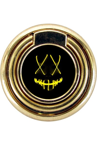 BSB Metal Telefon Halkası Selfie Yüzüğü Telefon Telefon Standı Gold G266
