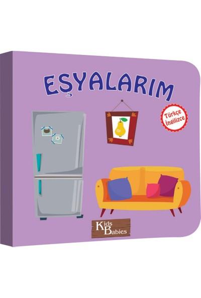 Kids Babies Eşyalarım Türkçe İngilizce