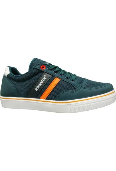 Kinetix Pontech Petrol Turuncu Bağcıklı Sneakers Spor Ayakkabı