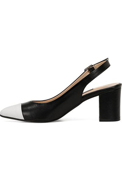 Nine West Lisa Siyah Kadın Klasik Topuklu Ayakkabı