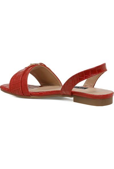 Nine West Lorata Kırmızı Kadın Düz Sandalet