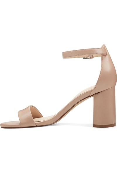 Nine West Sandy3 Naturel Kadın Topuklu Ayakkabı