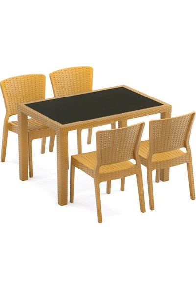 Bintaş Mobilya Dış Mekan Bahçe Masa Sandalye Takımı