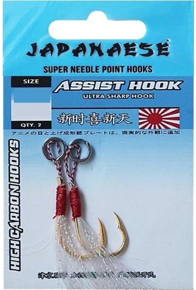 Japanase Ultra Sharp Assist Hook Olta Iğnesi