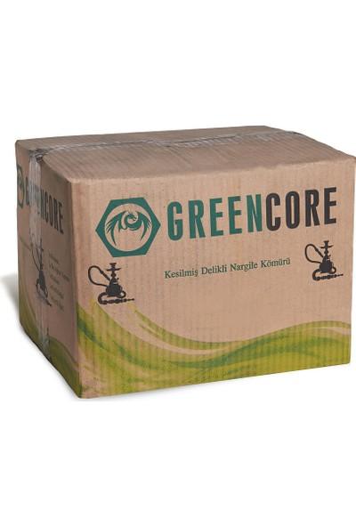 Greencore Delikli Kesilmiş Nargile Kömürü