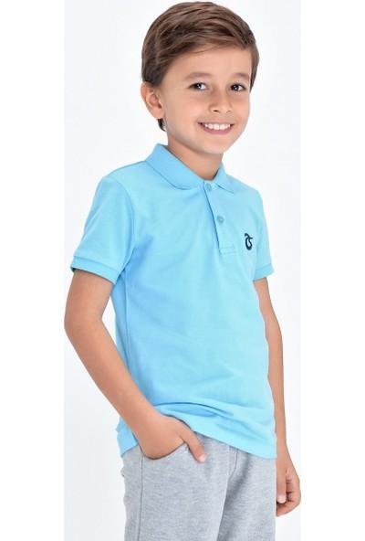 Ts Club Trabzonspor Polo Yaka Logolu T-Shirt