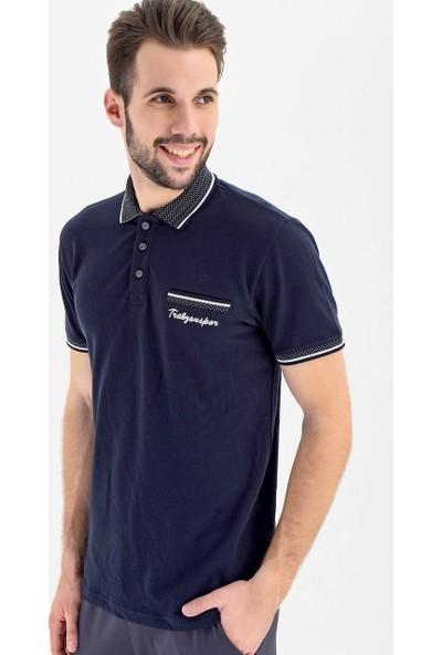 Ts Club Polo Yaka Sahte Cep T-Shirt
