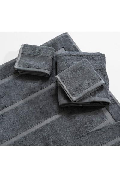 Chakra Home 4'lü Banyo Paspas Havlu Seti Granit