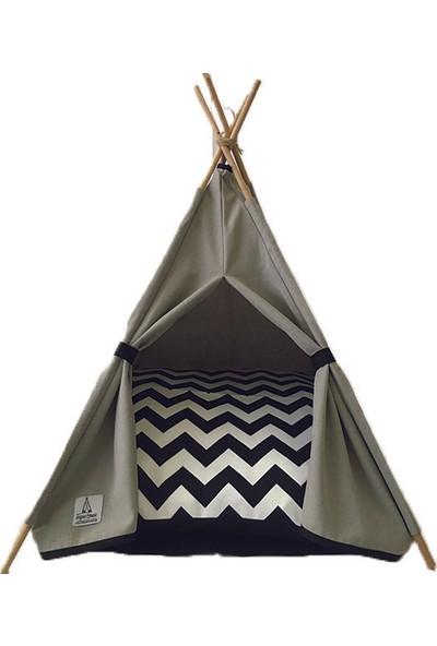 Teepee House Kedi Çadırı 50 x 50 x 85 cm