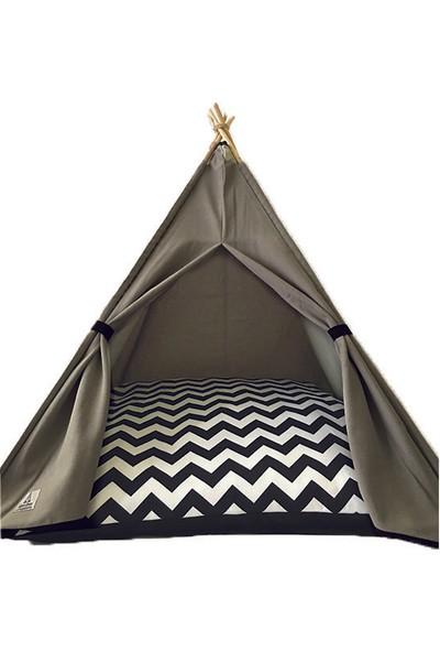 Teepee House Köpek Çadırı 70 x 70 x 85 cm
