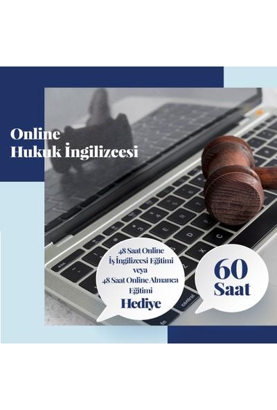 Online Hukuk Ingilizcesi Eğitimi - Canlı Bire Bir Özel Ders -60 Saat
