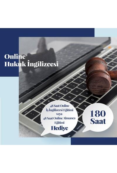 Online Hukuk Ingilizcesi Eğitimi - Canlı Bire Bir Özel Ders -180 Saat