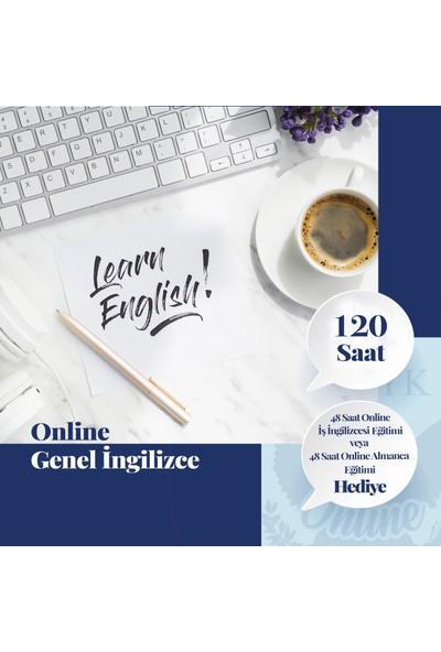 Online Genel Ingilizce Eğitimi - Canlı Bire Bir Özel Ders -120 Saat