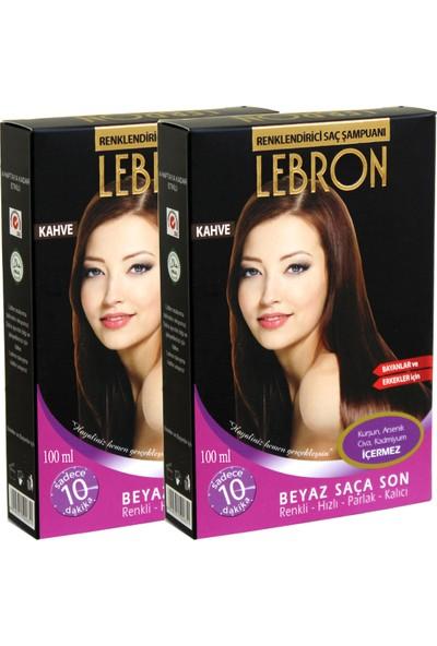 Lebron Renklendirici Saç Şampuanı 5.3 Açık Çikolata Kahve 8X25 200 ml