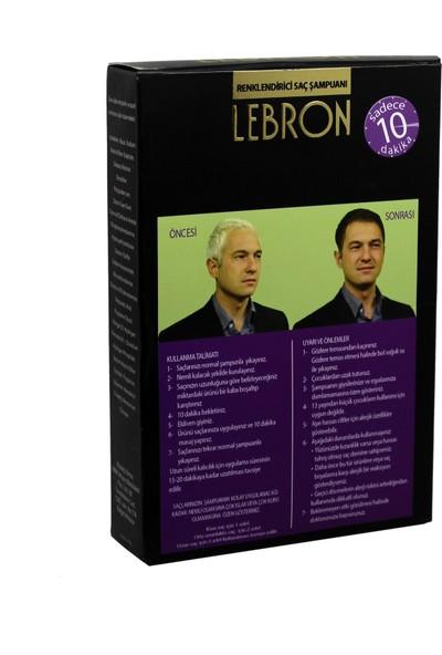 Lebron Renklendirici Saç Şampuanı 8.0 Kestane Açık Kumral 4X25 100 ml