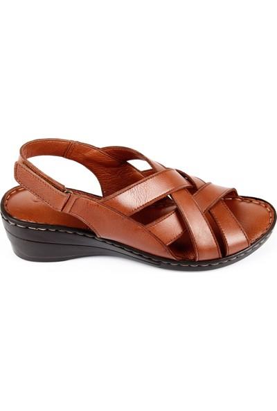 Gön Deri Kadın Sandalet 45413