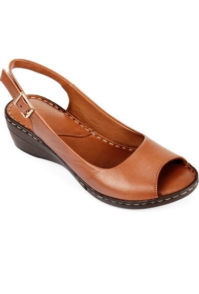 Gön Deri Kadın Sandalet 45422