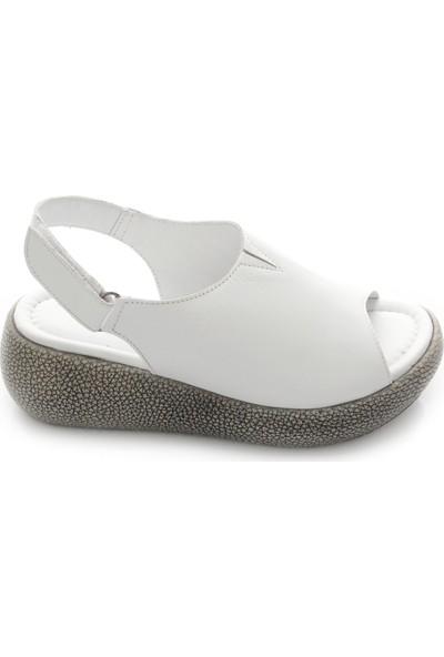 Gön Deri Kadın Sandalet 45813
