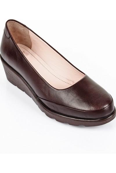 Gön Deri Kadın Günlük Ayakkabı 24089