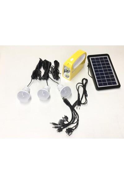 Unison Güneş Enerjili Solar LED Işıklı Kamp Feneri