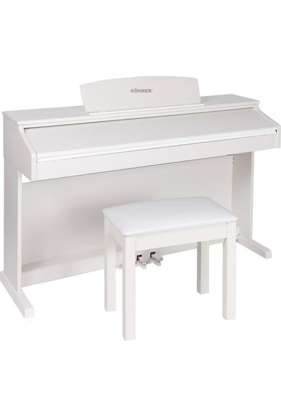 Köhner SLP-150-W Dijital Konsol Piyano - Beyaz