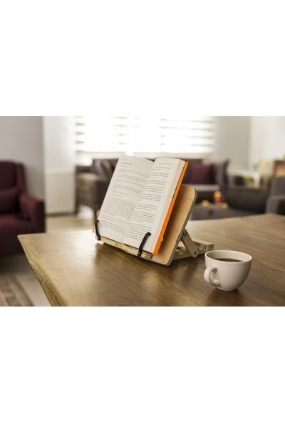 Mavera Ahşap Kitap Okuma Standı
