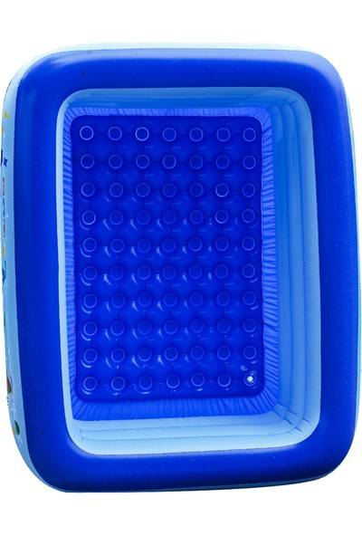 Yukka Şişme Yüzme Havuzu Çocuk Bebek Küvet Banyo Çocuk Havuzu 1-5 Kişi İçin Şişme Havuz 120 cm