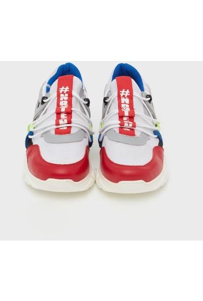 Nebbati Erkek Çocuk Beyaz Ayakkabı