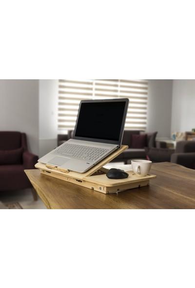 Mavera Ahşap Laptop Sehpası ve Keyif Tepsisi